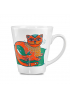 "Mug ""The Emerald cat-whale"""