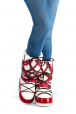 """Women's winter Dyvooo-Boots """"The Red Beads"""""""