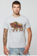 "Men's T-Shirt ""The Carpathian Bison"""