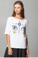 "Women's T-shirt ""Dyvooo-Eyes. Fabulous deer"""