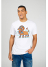 "White men's t-shirt ""Lion"""