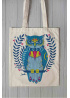 "Eco bag  ""The Owl Taleteller"""