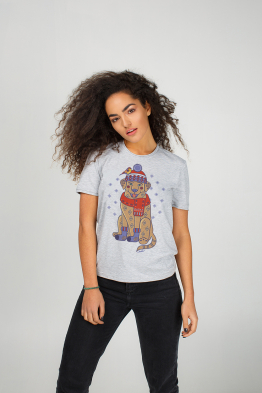 "Women's T-Shirt ""New Year's Wonderdog"""