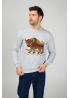 "Men's sweatshirt ""Carpathian Bison"""