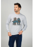 "Men's sweatshirt ""Steel Wolf"""
