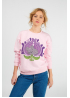 "Pink sweatshirt ""Little mouse"""