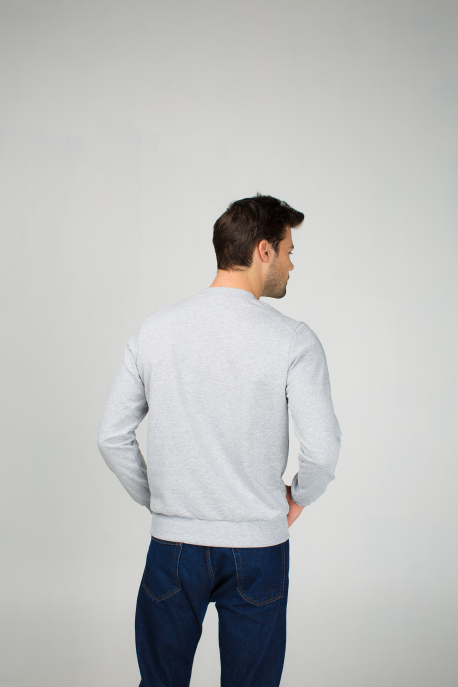 Men's sweatshirt with dog