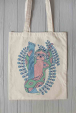 Eco bag with sloth