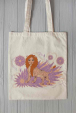 Eco bag with lioness