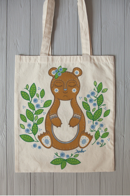 "Eco bag ""Teddy Bear"""