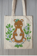 Eco bag with bear