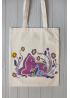 "Eco bag ""The Baby deer with mom"""