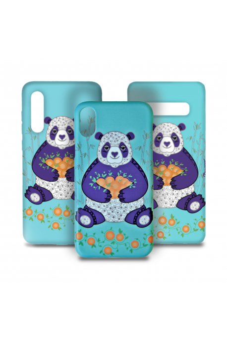 Phone case with panda
