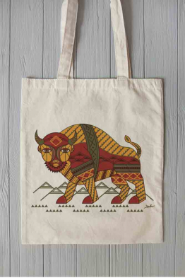 "Eco bag ""The Carpathian Bison"""