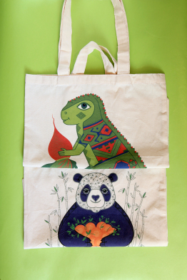 "Eco bag  ""Ukrozaurus"""