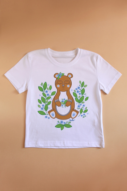 "Child T-shirt ""Teddy bear"""