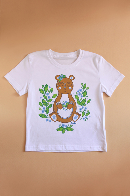 T-shirt with Teddy Bear