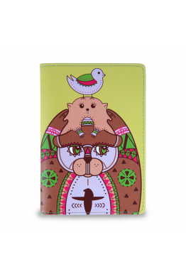 "Passport Cover ""Family totem"""
