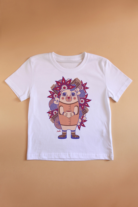 T-shirt whith hedgehog