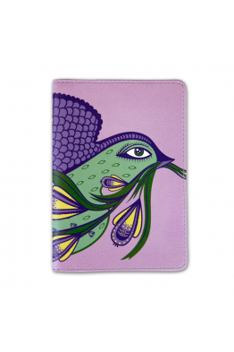 "Passport Cover ""Spring swallow"""