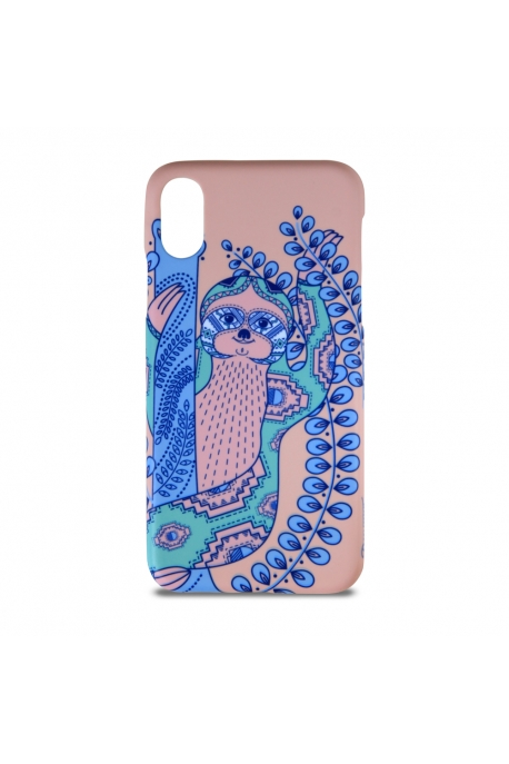 Smartphone case with sloth