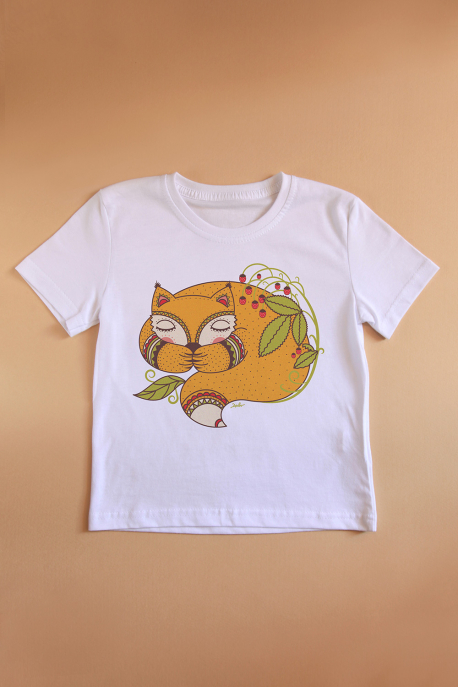 Child t-shirt with little foxy