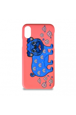 "The phone case ""Apricot pug"""