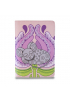 "Passport Cover ""Petal siesta"""