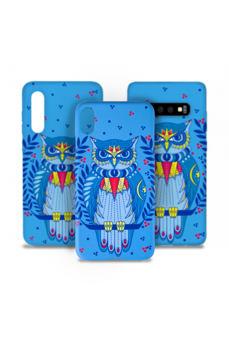Smartphone case with owl