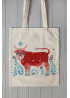 "Eco bag ""The cow"""