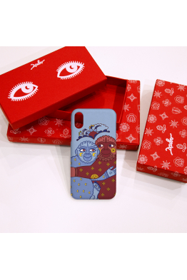 "The phone case ""Fascinated love"""