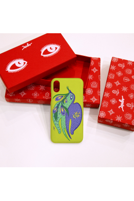 "The phone case ""Spring Swallow"""