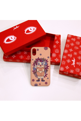 "The phone case "" Hedgehog Ghluti"""
