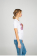 Women's t-shirt with lioness print