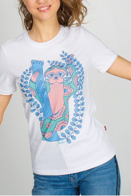 Women's t-shirt with a sloth