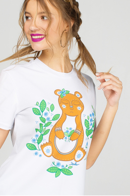 "Women's T-Shirt ""Teddy Bear"""