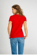 Womens red t-shirt
