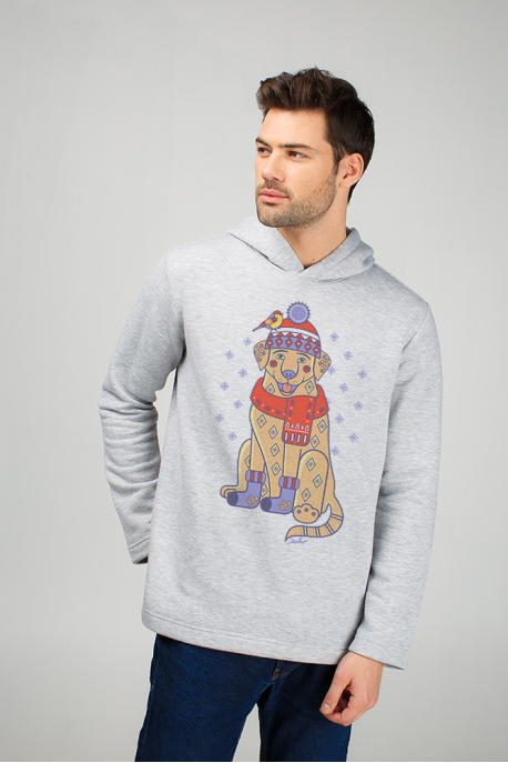 "Men's sweatshirt ""Christmas Labrador"""