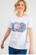 T-shirt for women with cute piggy