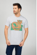 Men's t-shirt with cat print