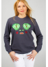 "Women's Sweatshirt ""Dyvooo-Eyes. The Princess Frog"""