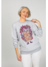 "Woman's Sweatshirt ""The hedgehog Ghluti"""