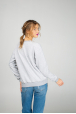 Women's sweatshirt with dragonfly print