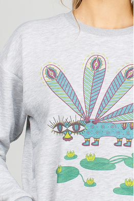 "Women's sweatshirt ""Dragonfly"""