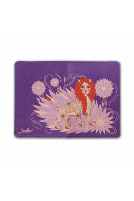"Passport Cover ""Lioness"""