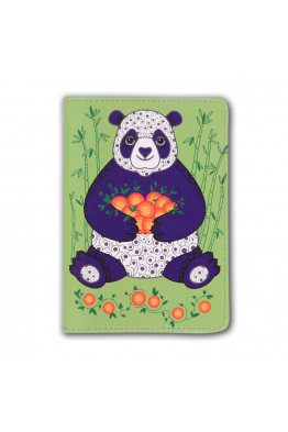 "Passport Cover ""Tangerine Hug"""