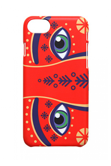 iPhone cover with eyes of New Year Wonderdog