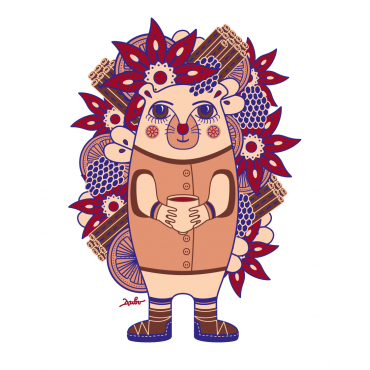 The hedgehog Ghluti
