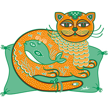 "Print ""The Emerald cat-whale"""