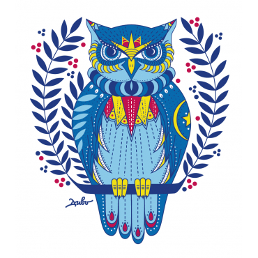 "Print ""The Owl Taleteller"""